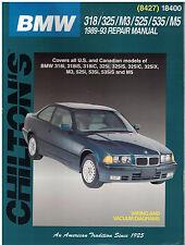 Chilton's BMW 318/325/M3/525/535/M5 1989-93 Repair Manual