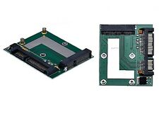 "mSATA SSD To SATA 2.5"" 3.5"" Adapter Converter Card for PC or Laptop"