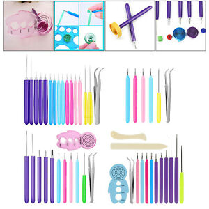 Paper Quilling Tools Slotted Quilling Supplies Pen Rolling Tool Tool Card