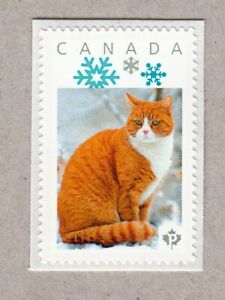 GINGER, RED =  DOMESTIC CAT = Picture Postage MNH stamp Canada2016 [p16/05dc3/3]
