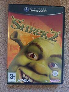 Shrek 2 Nintendo Gamecube Game Cube PAL Disney Pixar COMPLETE