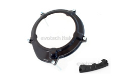 EVOTECH COUVERTURE SUMP EMBRAYAGE NOIR + PROTECTION KTM 1190 RC8 / R
