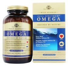 Solgar Full Spectrum Omega Wild Alaskan Salmon Oil, 120 Softgels