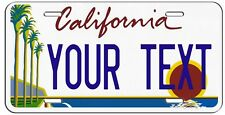 PERSONALIZED CALIFORNIA BEACH VANITY LICENSE PLATE AUTO TAG