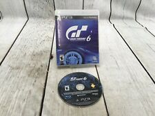 Gran Turismo 6 (Sony PlayStation Ps3, 2013) ~Complete~