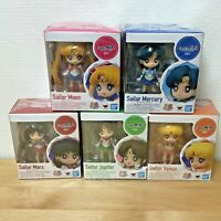 Sailor Moon Figuarts Mini Figure Doll Collection Full Set of 5 Bandai  3.5 inch
