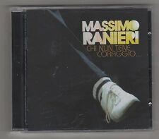 MASSIMO RANIERI  CHI NUn TENE  CORAGGIO ... F.C. CD COME NUOVO!!!