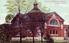 WINDSOR ONTARIO CANADA CENTRAL METHODIST CHURCH 1908