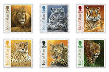 Isle of Man 2013 Big  Cats tijgers  postfris/mnh