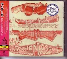 LIARS Drum's Not Dead JAPAN CD SEALED 3 BONUS & VIDEO
