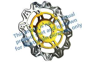 Pour Triumph Speed Triple (1050cc - 07>08 EBC VR Frein Disque Or Hub avant Droit
