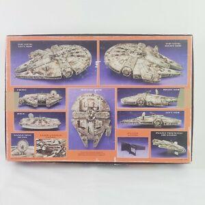 Vintage 1995 Puzz 3D Star Wars Millennium Falcon 857 Pc Foam Puzzle