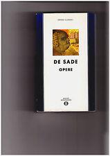 "De Sade ""Opere"" Mondadori"