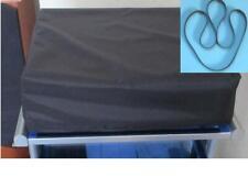 Black Nylon Dust Cover for Linn Sondek LP12/Axis/Basik  + Main Drive Belt. New