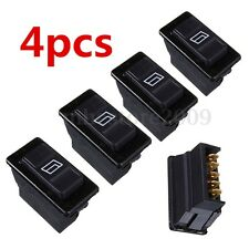 4X Universal 5 Pin Car Power Window Control ON/OFF SPST Rocker Switch Buttons