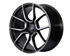 RAYS Gram LIGHTS AZURE 57ANA Wheels 18x7.0J +53 5x114.3 set of 4 from JAPAN