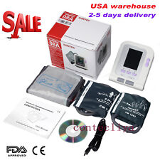 CONTEC-08A Digital Blood Pressure Monitor Adult/Pediatric Upper Arm BP Cuffs+SW