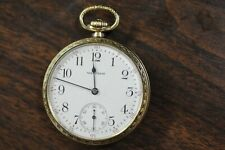 Set Pocketwatch Cresent St Beautiful Condition! Waltham 16S 21J Model 1908 Lever