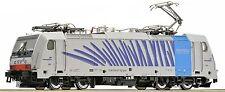 """Roco 79654, Locomotora eléctrica Serie 186, Railpool """"Cebra"""", AC, NUEVO, OVP"""