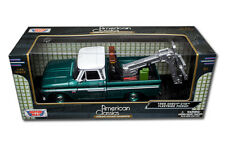 American Classics - 1966 Chevy C10 Fleetside Pickup verde 1:24 SCATOLA DANNEGGIATA