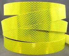 3M Fluoro Yellow Green (4083) Diamond Grade Class 1 Reflective Tape 30mm x 5m