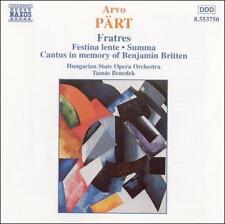 Arvo Pärt: Fratres, New Music