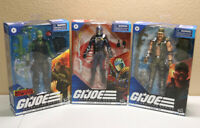 GI JOE CLASSIFIED LOT: GUNG HO, COBRA COMMANDER, BEACH HEAD IN HAND READY 2 SHIP