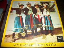Cimbálová Muzika Hynka Bíma – Moravský Folklór - LP - 1981 - Supraphon