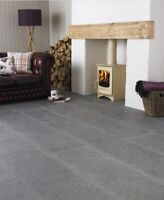 Marshalls Aegean Blue Tumbled Limestone Floor & Wall Tiles 400xFree Length