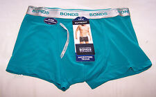 Bonds Mens Palm Frond Green Coloured Microfibre GuyFront Trunk Brief Size M New