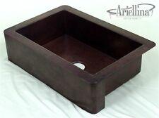 "36"" Ariellina Farmhouse 14 Gauge Copper Kitchen Sink Lifetime Warranty AC1903"