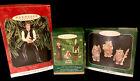 3 Star Wars Hallmark Keepsake Ornaments: Han, Jedi Council, Ewoks 1998/1999/2000