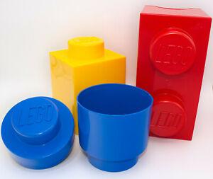 Lego 4014 Brick Aufbewahrungsbox Container Ordnung Storage 1x1 1x2 rund