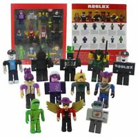 UK Roblox Robot Riot Mix /& Match Set PVC Game Toy Includes 16 Pcs Box Kid Gift