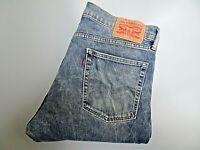 "LEVIS 513 Jeans Acid Wash Stretch Denim SLIM Fit SIZE W34 L29 Waist 34"" Leg 29"""