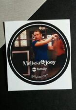 MELISSA & JOEY LAWRENCE BASEBALL BAT I TV RARE PHOTO SMALL GET GLUE STICKER
