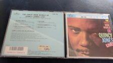 CD - Quincy Jones – The Great Wide World Of Quincy Jones: Live! (Japan CD)
