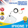 iPhone 7 Rear Camera Glass Lens Back Rear Glass Replacement With 3M Adhesive NEW