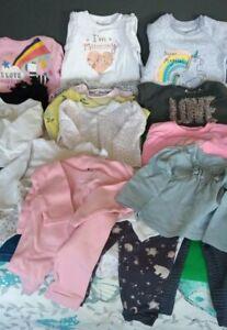 Baby's Clothes Bundle GIRL @ 9 to 12 months Next Zara River Island Disney Nutmeg