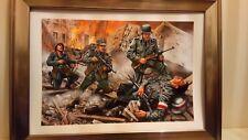 AIRFIX BOX ART GERMAN WW2   [ A4 FRAMED ]