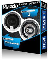 Mazda 2 Front Door Speakers Fli Audio car speaker set 210W