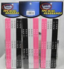 Loiusville Slugger Tps Mini Headbands (6 per pack) lot of 3 packs New in package