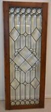 Antique American Beveled Glass Window Circa 1910
