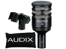 AUDIX D6 KICK DRUM MICROPHONE -AWESOME KICK SOUNDS-FREE SHIPPING!