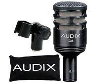 AUDIX D6 KICK DRUM MICROPHONE -AWESOME KICK SOUNDS-FREE SHIPPING!
