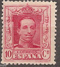 SPAIN Edifil # 313 ** MNH Alfonso XIII Vaquer Sin fijasellos