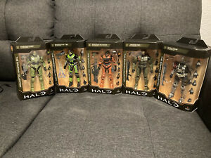HALO Figure SERIES 2 New 2021 THE SPARTAN COLLECTION UNSC HALO INFINITE Set Of 5