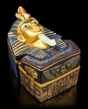 egiziano ASTUCCIO - TUTANKHAMON - Fantasy Cassetta porta gioielli Egitto