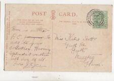 Miss Katie Scott Garth Road Garth Maesteg 1905 480b