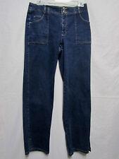 LIZ CLAIBORNE LIZWEAR MICHAELA blue Denim jeans/Pants 8 Waist 30 classic fit